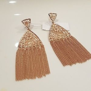 Kendra Scott Rose Gold Ana Earrings
